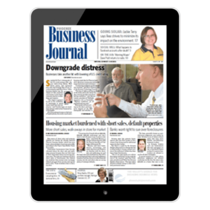 Pathlight Investors Phoenix Business Journal graphic in ipad